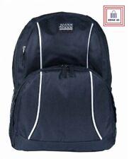 Jazzi Mens Black High Quality Polyester 20 Litre Everyday Backpack Rucksack