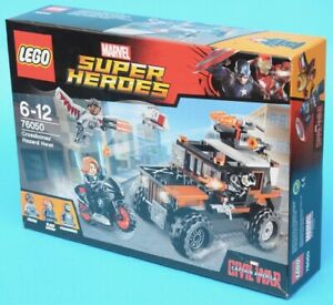 LEGO 76050 - Crossbones' Hazard Heist - Marvel - 2016 - Black Widow Falcon