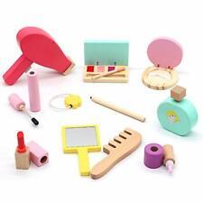 Symiu Wooden Toys Kids Make up Sets for Girls PretendMakeup Princess Makeup