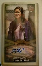 Mercedes Mason Topps Fear The Walking Dead Autograph MM-1 Ofelia Salazar 09/10