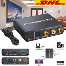 HDMI 192KHz ARC Audio Adapter Digital zu Analog SPDIF RCA Converter Extractor