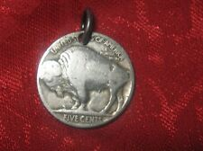 AUTHENTIC COLORADO USA AMERICAN BUFFALO NICKEL PENDANT COIN NECKLACE