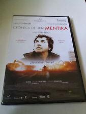 """DVD """"CRONICA DE UNA MENTIRA"""" PRECINTADO SEALED XAVIER GIANNOLI FRANÇOIS CLUZET"""