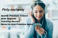 Spotify Premium Tokens 1 Year 12 Months Auto Upgrade Worldwide Instant Delivery