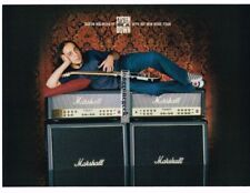 2003 MARSHALL Mode 4 Amplifiers DARON MALAKIAN System Of A Down Vtg Print Ad
