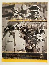 U.S. Army AN ARMY OF ONE 2006 Print Ad
