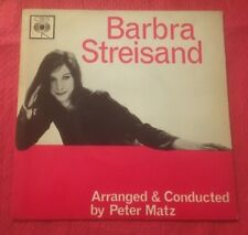"Barbra Streisand ""Who Will Buy?"" 7"" 45RPM 4 Track EP Single CBS AGG 320054 1963"