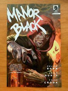 MANOR BLACK #1  Daniel Brereton Variant Dark Horse Comics 2019 NM+