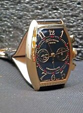 FRANCK MULLER 18K Rose Gold Cintree Curvex Chronograph # 5850 CC Box