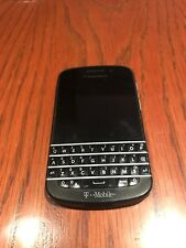 BlackBerry Q10 - 16Gb - Black (T-Mobile) Works With Wifi Only Read Description