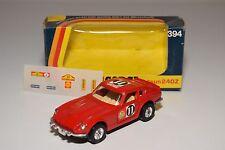 \ CORGI TOYS 394 DATSUN 240Z 240 Z RALLY RED MINT BOXED + DECAL SHEET
