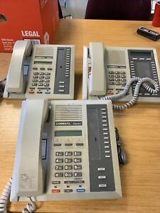 Lot of 3: Comdial Impact (2) 8012S-pt 8024S -pt Telephone Business Phone