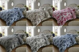 200TC Luxury Bedding Duvet Cover Set Florence Damask Cotton