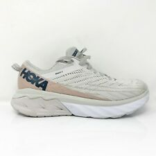 Hoka One One Womens Arahi 4 1106474 NCLR Beige Running Shoes Lace Up Size 8