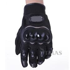 Paire Noir Gants Doigt Complet Protection XXL Moto Vélo Sport Femme Homme