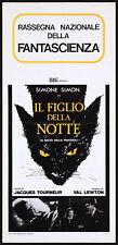 CAT PEOPLE 1942 Simone Simon, Tom Conway, Kent Smith ITALIAN LOCANDINA