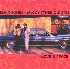 Love & Peace Jones, Elvin, Tyner, Mccoy Audio CD