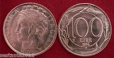 C42  ITALY  ITALIA REPUBBLICA ITALIANA  100 LIRE TURRITA 1994 KM 159  FDC UNC