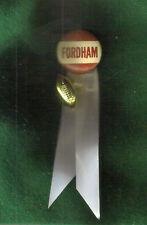 """FORDHAM"" BUTTON-PIN 1 1/4"" RIBBONS & FOOTBALL"