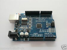 Arduino Uno R3 / V3.0 compatible board ATmega328P with USB lead. UK Supplier.