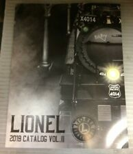 Lionel 2019 Volume II 148 pages in stock now ships quick!  See photos for select