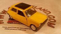 Norev Jet Car 1972 Renault 5 R5 n°711 1/43 made in france version jaune