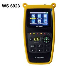 SatLink WS-6923 LCD DVB-S FTA Professional Digital Satellite Finder Signal Meter