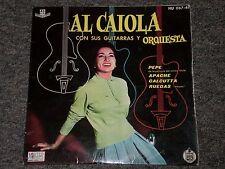 """Al Caiola~Con Sus Guitarras Y Orquesta~Hispa Vox HU 067-41~45rpm 7"""" Single"""