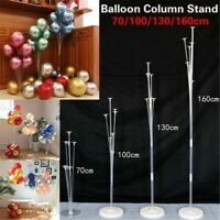 Balloon Column Stand Kit Wedding Birthday Party Decors Display Base Tube Sets