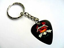 METALLICA  Guitar Pick  Keyring  12 to Choose  Double Sided