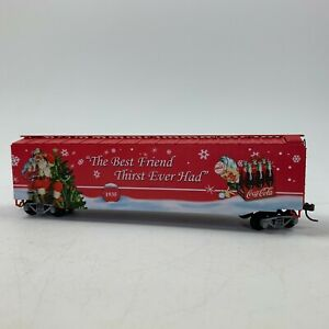 Hawthorne Village Coca Cola 1935 Through The Years Express Train Boxcar HO Scale