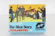 Atlantic Far-West Story Légende de l'Occident Camp des États-Unis 1/32 Petits Soldats Set (1207)
