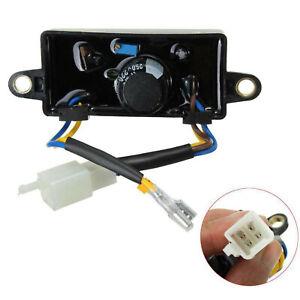 Universal Voltage Regulator Rectifier Single Phase AVR For 2KW-3KW Generator