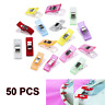 20/50pc Plastic Quilter Holding Wonder Clips Sewing Accessories Quilt Binding qr