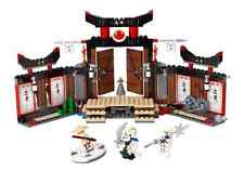 LEGO NINJAGO 2504 SPINJITZU DOJO DISCONTINUED SIN CAJA NO BOX NEW