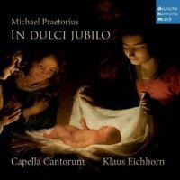 KLAUS EICHHORN / CAPELLA CANTORUM - MICHAEL PRAETORIUS-IN DULCI JUBILO  CD NEU