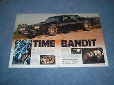 """1977 Pontiac Trans Am Resto-Mod Article """"Time Bandit"""""""