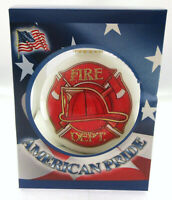 Fire Dept. Christmas Tree Ornament ~ First In, Last Out