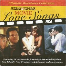MOVIE LOVE SONGS - DAILY EXPRESS PROMO MUSIC CD