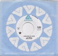 LOU REED  I Believe In Love  rare promo 45 from 1976