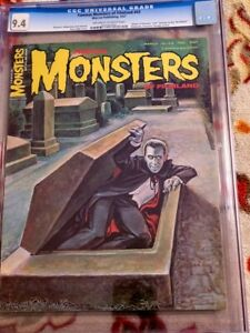 FAMOUS MONSTERS  OF FILMLAND ISSUE 43** CGC 9.4!!** *FREE SHIPPING**!