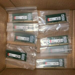 LOT OF 10 Kingston KCP424SS6/4 4GB DDR4 2400MHz SDRAM Memory Module NEW