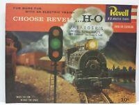 Revell H-O Electric Trains 1958 - 59 1959 Train Railroad Track Catalog Magazine