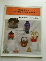 Made in Czechoslovakia by Ruth Forsythe Pottery Porcelain Illustrated 1982 LC