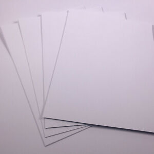A3 Bright White Card for Crafting 180gsm Art Card 20 Sheets Kids Craft Card