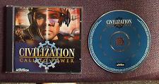 La civilización (CIV): llamar al poder para la PC, CD-ROM (Windows) - En muy buena condición
