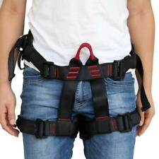 Rock Climbing Rappelling Harness Equipment Pro Safety Half Body Tree Rigging