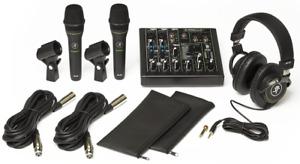 Pack ProFx6V3, 2 micros, casque MACKIE PERFORMER-BUNDLE