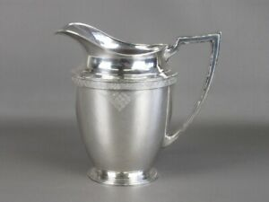 1930 Oneida Antique Vase Liberty Plated Silver Debossed and Numbered
