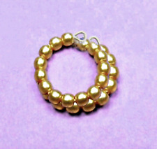 """Dreamz GOLD Pearl SNAKE BRACELET made for 11"""" Barbie Doll Jewelry"""